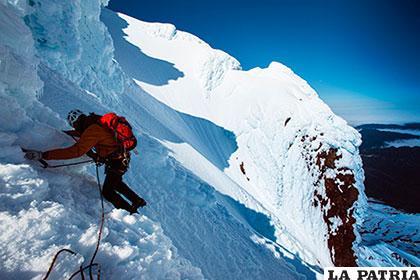 Ambos pretendían alcanzar la cumbre del macizo, la muerte los sorprendió en el camino /revistaaire.com.ar