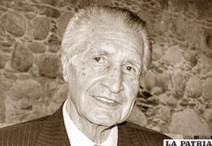 Luis Ossio fue vicepresidente entre el 6 de agosto de 1989 y el 6 de agosto de 1993 /LOSTIEMPOS.COM