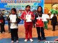 Las ganadoras en la disciplina de ajedrez