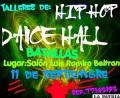 Todo listo para el taller de hip hop y dancehall
