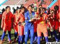 San Martín se consagró campeón  nacional de fútbol femenino
