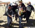 Uno de los heridos durante los enfrentamientos en Panduro /Archivo