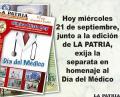 Homenaje al Día del Médico
