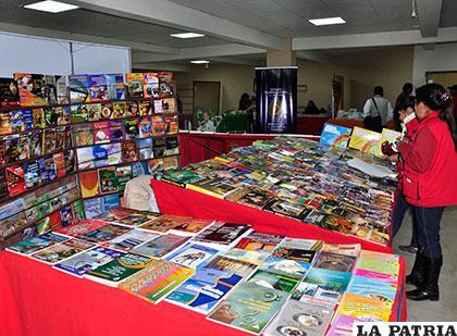Feria del Libro iniciará este martes