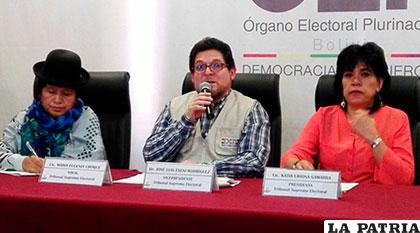 TSE hizo conocer sobre aspectos de las elecciones judiciales /ANF