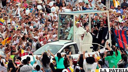 El Papa reflexiona en su visita a Colombia /EFE