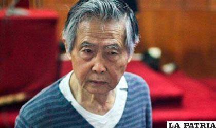 Alberto Fujimori fue trasladado nuevamente a una clínica local