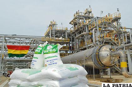Inauguran planta de Urea y Amoniaco en Cochabamba