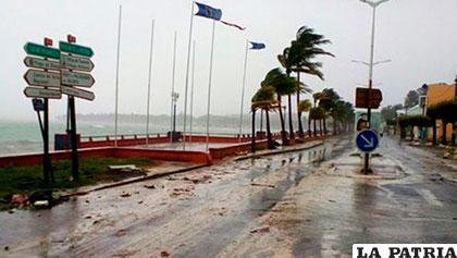 Reportan primer desaparecido en República Dominicana por causa del huracán María