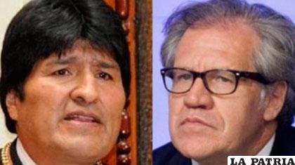 Gobierno de Bolivia pide a secretario de OEA respeto a soberanía