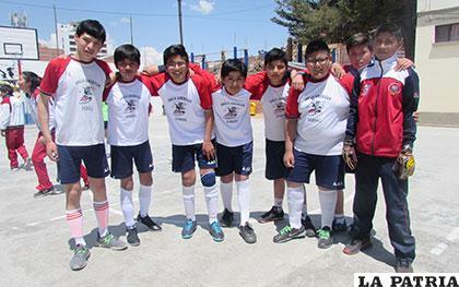 Los representantes de Segundo en fútbol de salón