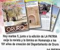 Homenaje al Departamento de Oruro