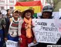 Jóvenes estudiantes se unen a las protestas de Achacachi /APG