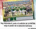Póster de la Selección de Bolivia