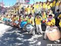 Sikureada se apoderó de la Avenida del Folklore /GAD-ORU