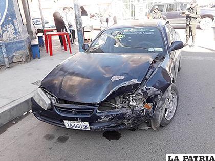 Los daños en ambos vehículos son en la parte delantera