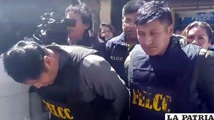 Dos cogoteros fueron aprehendidos en El Alto /Erbol