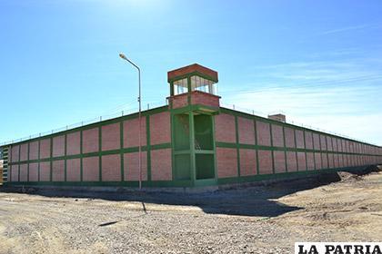 El 24 de septiembre debe empezar a funcionar la nueva cárcel /LA PATRIA