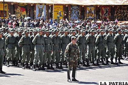 Las expectativas para reclutar premilitares este año no fueron las más atinadas /LA PATRIA/ARCHIVO