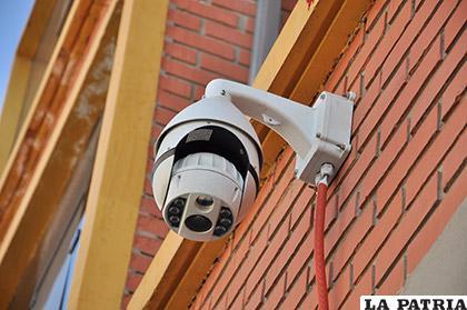 Instalarán 150 cámaras de seguridad en la ciudad /Foto referencial/LA PATRIA/ARCHIVO