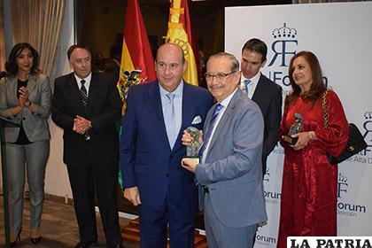 La autoridad de la UPB recibió el mayor galardón que entrega el Real Fórum de Alta Dirección /EXTEND
