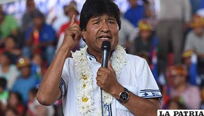 Desde 2002, Evo Morales es candidato presidencial del MAS /InfoBaires24