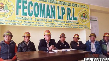 Directorio de Fecoman ante medios de comunicación /ANF