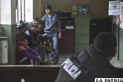 Los cocaleros detenidos se encuentran en la Fuerza Especial de Lucha Contra el Crimen /APG
