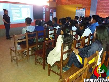 Los talleres llegaron a casi 300 estudiantes /EMAO