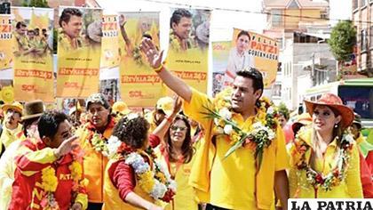 El partido político trabaja rumbo a encarar las primarias /Pagina Siete