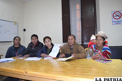 Pleno del Concejo Municipal de Huari, visitó LA PATRIA / LA PATRIA