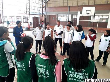 El objetivo es generar una convivencia pacífica y armónica / CHILDFUND BOLIVIA