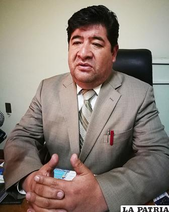 El presidente del Colegio de Abogados, Saúl Fuentes / LA PATRIA