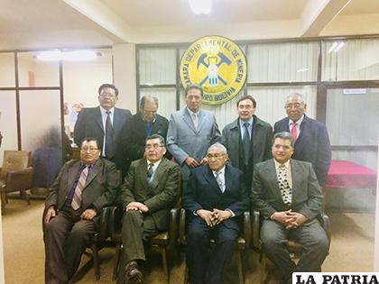 Los nuevos directivos de la Cámara Departamental de Minería