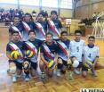 Alemán y La Salle campeones del  voleibol en la Circunscripción 30