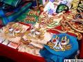 Variedad de bordados elaborados por los internos/LA PATRIA