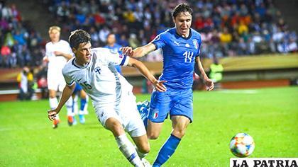 Italia venció de visita a Finlandia 2-1 /as.com