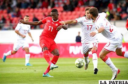 Suiza derrotó de local a Gibraltar 4-0 /europapress.es