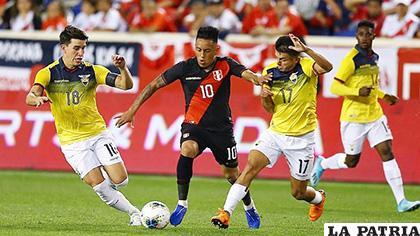 La selección de Ecuador llega de ganar a Perú 1-0 en Estados Unidos /elbocon.pe