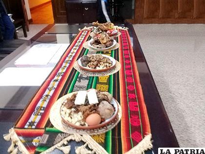 Se expondrán algo más de 40 platos que caracterizan a la región orureña /LA PATRIA /ARCHIVO