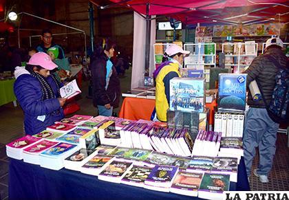 Esperan que este año se tenga más participación de la ciudadanía en Feria del Libro /LA PATRIA /ARCHIVO