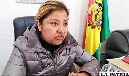 La concejal Denisse Villca ahora es candidata a diputada /LA PATRIA