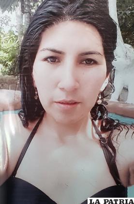 Sandra Delgado de 30 años /LA PATRIA