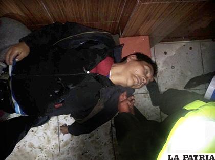 El cuerpo fue encontrado al interior del local
