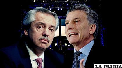 20 puntos la diferencia entre el opositor Alberto Fernández, favorito a la Presidencia, y el presidente, Mauricio Macri