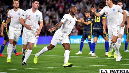 Raheem Sterling inició la remontada de Inglaterra /mundodeportivo.com