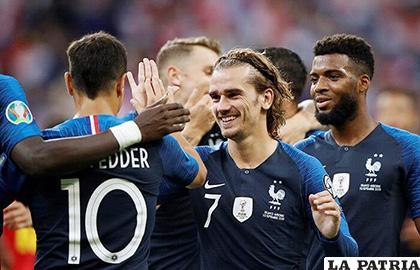 A pesar que Griezmann falló un penal, Francia venció 3-0 a Andorra /futbolperuano.com