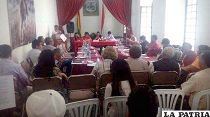 Cívicos se reunieron en Tarija /El Deber