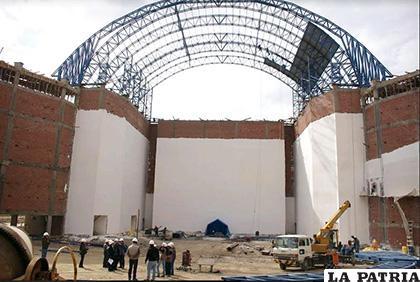 Teatro Nacional Oruro se concluirá a finales de año /LA PATRIA /ARCHIVO