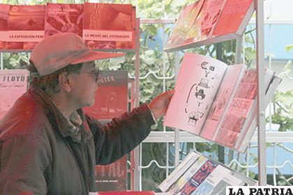 Feria del Libro inició con bastante dinamismo /LA PATRIA /Carla Herrera